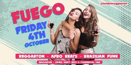 FUEGO - Reggaeton, Afro Beats, Brazilian Funk
