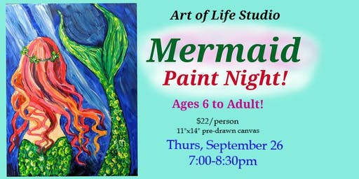 Paint Night: Mermaid
