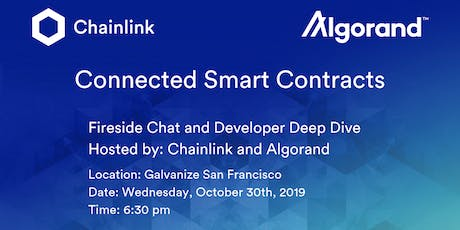Chainlink and Algorand SF Meetup: Connected Smart Contracts Fireside Chat tickets