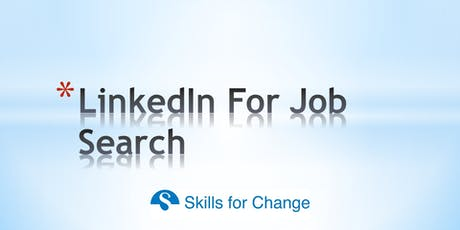 Get Linked-In: Using LinkedIn for Job Search tickets