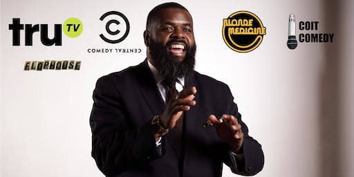 Kaseem Bentley CONTROLLED ANGER (stand up, story telling, and riffing!)