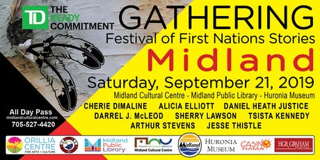 First Nations Literary Festival: Public Readings - ALL DAY PASS tickets