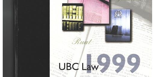 UBC  Law Class of 1999  Reunion