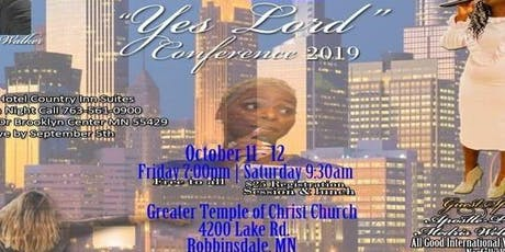 YES LORD CONFERENCE 2019 tickets