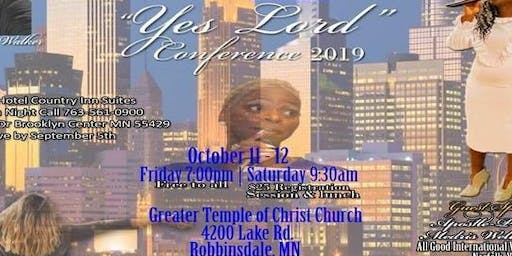 YES LORD CONFERENCE 2019