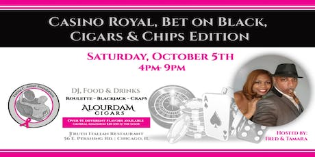 Casino Royal, Bet on Black Cigar Edition tickets