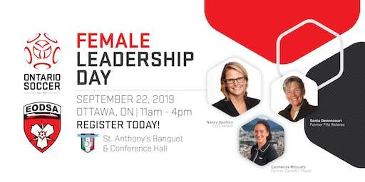 Ontario Soccer Female Leadership Day