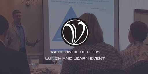 "Lunch & Learn (C'ville): ""How to Build and Lead a Hunter-focused Sales Team"""