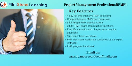 PMP Exam Prep Course in Timmins, ON