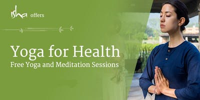 Yoga For Health - Free Session in Bromley (UK)