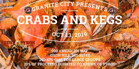 GRANITE CITY PRESENTS KEGS AND CRABS tickets