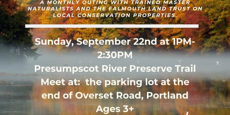 Hardy Hikers: Presumpscot River Walk tickets