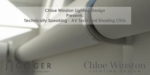 Earn 2 CEU Credits in ONE Evening+GIN TASTINGS at Chloe Winston Lighting