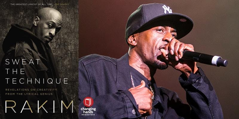 Changing Hands hosts Meet-and-Greet with Rakim: Sweat the Technique
