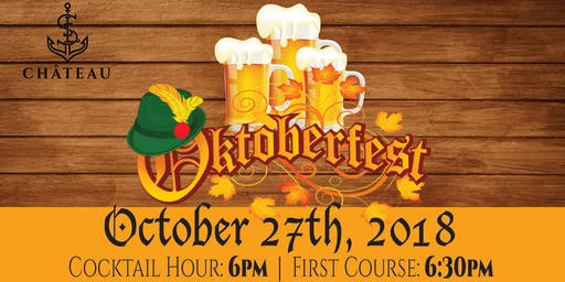 Oktoberfest at the Château: 5 Course Dinner & Beer Pairing