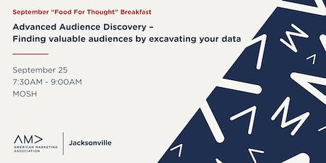 Advanced Audience Discovery – Finding valuable audiences by excavating your data tickets
