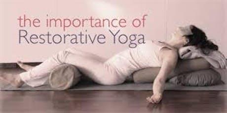 Restorative Yoga Classes tickets