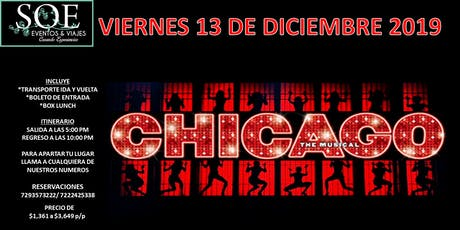 Vamos a Chicago el Musical entradas