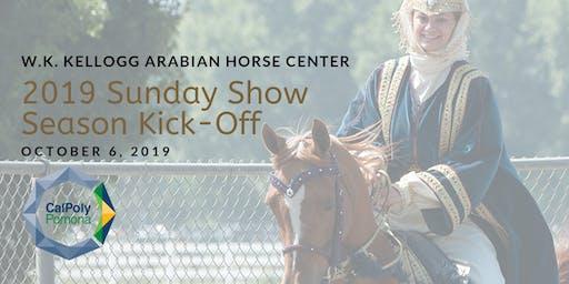Arabian Horse Center Sunday Show Kick-Off