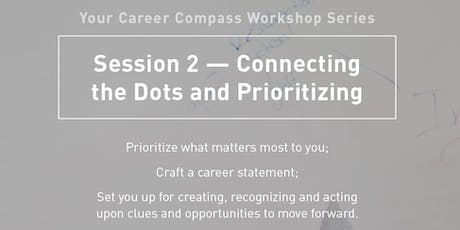 Your Career Compass Workshop Series: Session 2 -- Connecting the Dots and Prioritizing  tickets