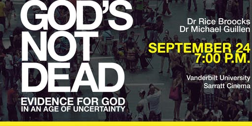 God's Not Dead with Dr. Rice Broocks at Vanderbilt University
