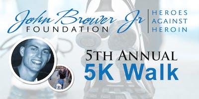 John Brower Jr Foundation 5th Annual 5k Walk