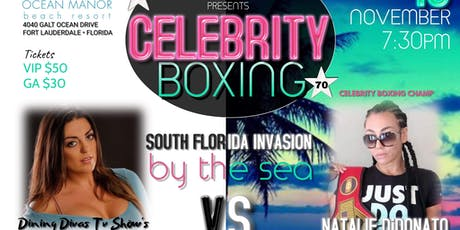Copy of Celebrity Boxing 70 tickets