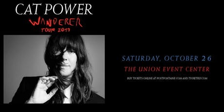 CAT POWER - Wanderer Tour 2019 tickets