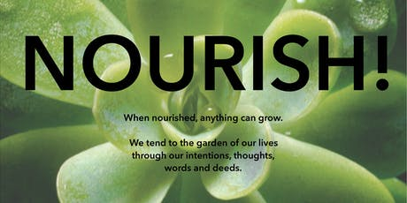 NOURISH! A 6 week series to nourish your body, Being & your dreams tickets