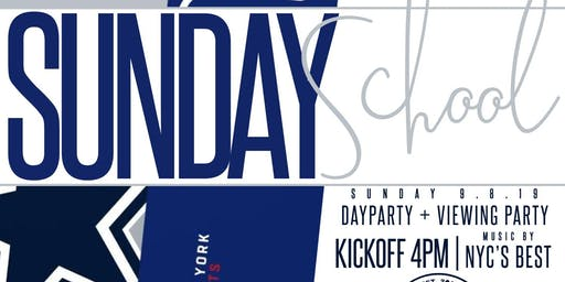 SUNDAY SCHOOL NFL DAY PARTY - Week 1