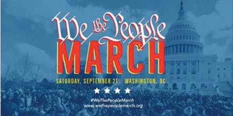 We the People March - Bus to DC from Hastings-on-Hudson NY - September 21st tickets