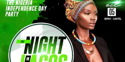 Nigerian Independence Day Party One night in Lagos