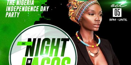 Nigerian Independence Day Party One night in Lagos tickets