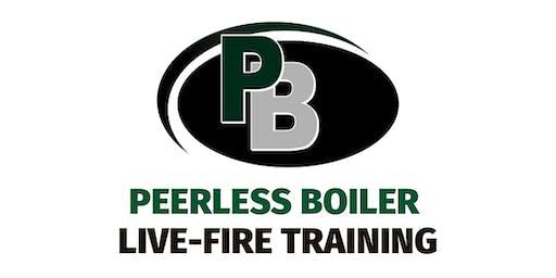 Peerless Live - Fire Boiler Training - Halfmoon
