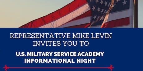 U.S. Military Service Academy Informational Night tickets