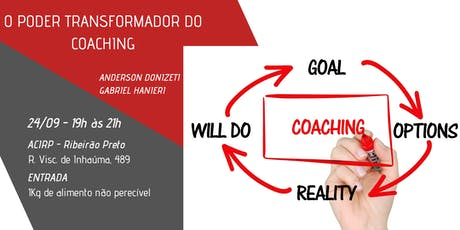 O Poder transformador do Coaching ingressos
