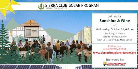 Sierra Club Sunshine & Wine tickets
