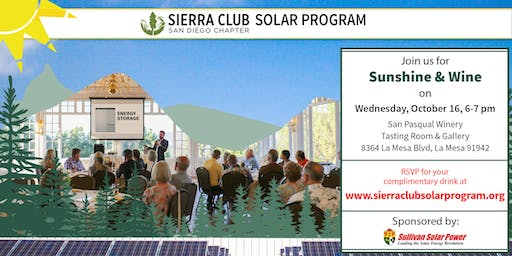 Sierra Club Sunshine & Wine