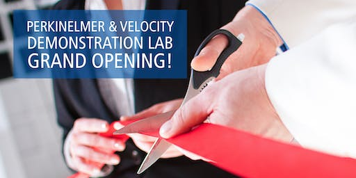 PerkinElmer and Velocity Demo Lab Grand Opening