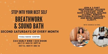 BreathWork & Sound Bath with Gina and Shanila tickets
