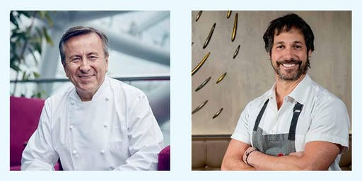 The Harvest Dinner hosted by Chef Daniel Boulud and Chef Ken Oringer
