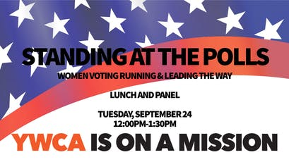 Standing at the Polls: Women voting, running, and leading the way! tickets