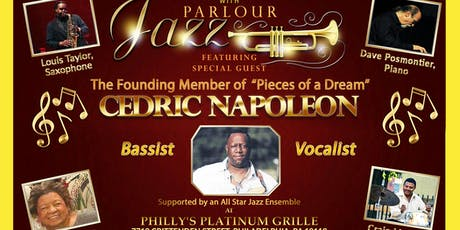 Parlour Jazz with Philadelphia's Own, Cedric Napoleon  tickets