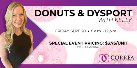 Donuts & Dysport With Kelly tickets