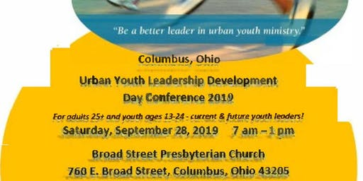 Columbus Ohio Urban Youth Leadership Conference 2019