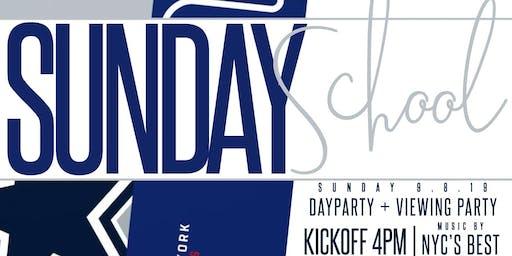 SUNDAY SCHOOL NFL DAY PARTY - Week 1 by #LiveByNightNYC