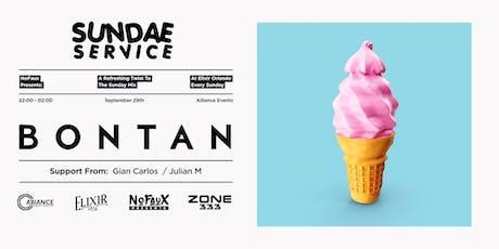 Nofaux Presents: Sundae Service w/ Bontan (Free Guestlist) tickets