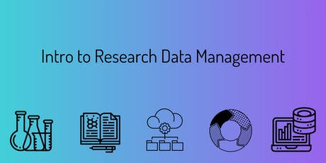 Intro to Research Data Management tickets