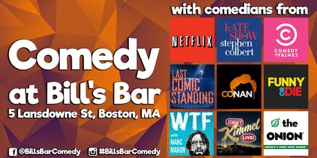 Comedy at Bill's Bar (Only $10) tickets