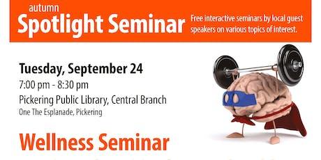 Autumn Spotlight Seminar tickets